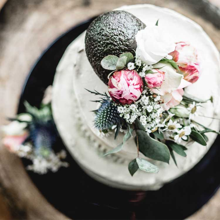Avocado Wedding Cake